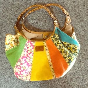 Relic brand patchwork purse